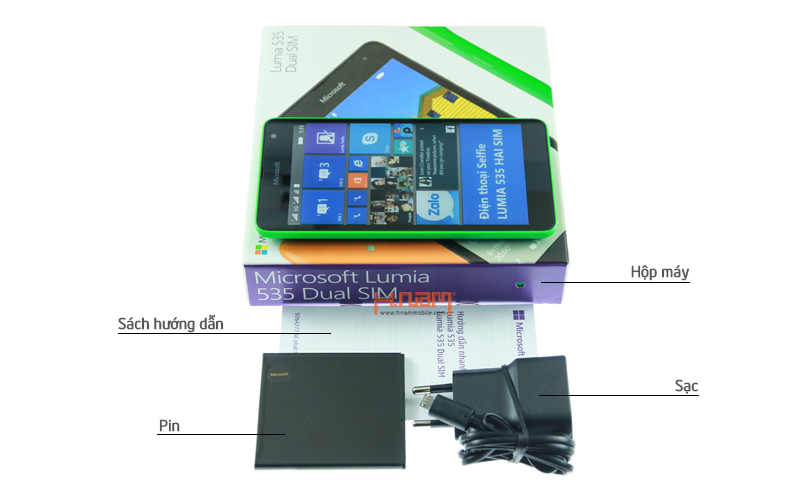 Microsoft Lumia 535 Dual Sim hình sản phẩm 0