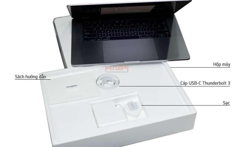 Macbook Pro MLH32 15 inch 2017 256GB Touch Bar Gray hình sản phẩm 0