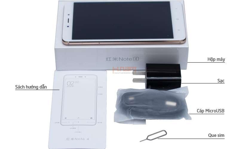 Xiaomi Redmi Note 4 32Gb Ram 3Gb (Chip SnapDragon 625) hình sản phẩm 0