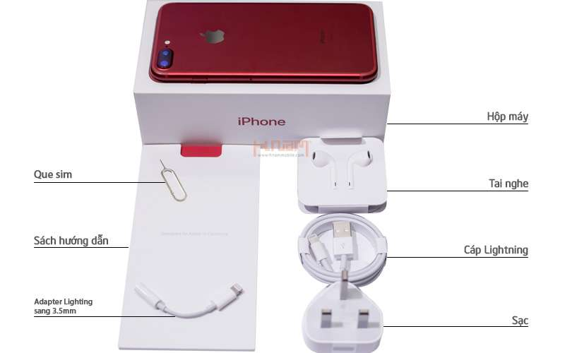 Apple iPhone 7 128Gb Product Red Special Edition hình sản phẩm 0