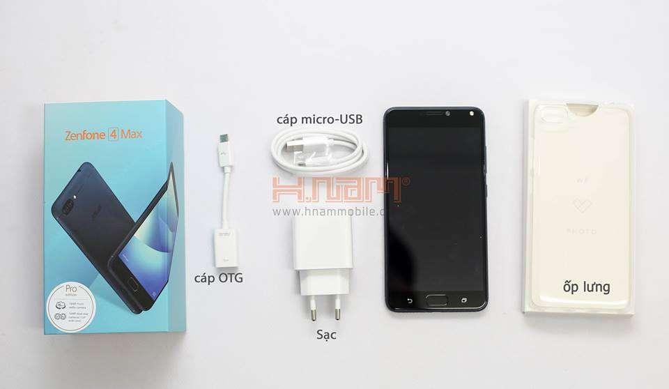 Asus Zenfone 4 Max Pro ZC554KL hình sản phẩm 0