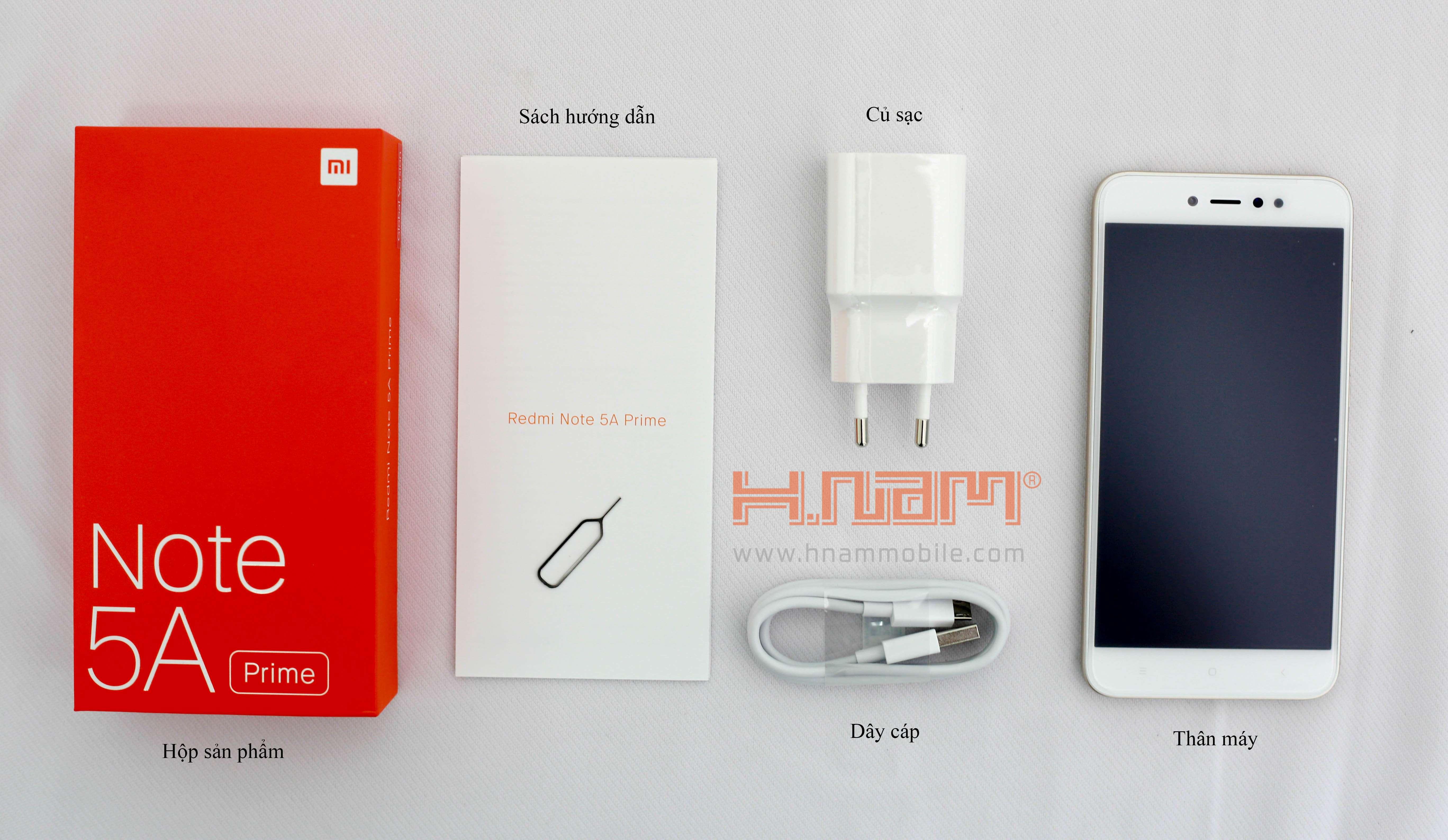 Xiaomi Redmi Note 5A Prime hình sản phẩm 0