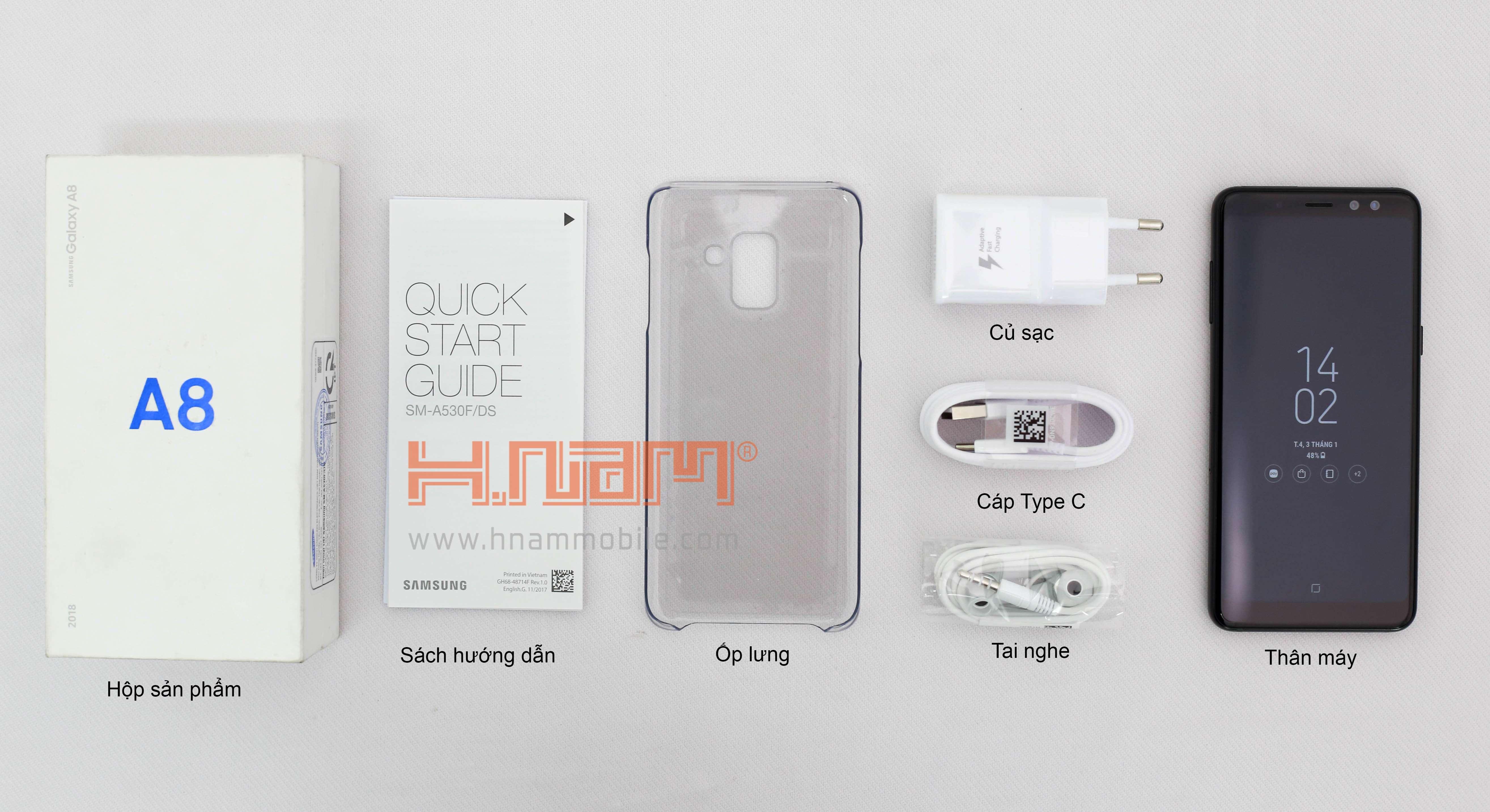 Samsung A8 2018 A530 hình sản phẩm 0