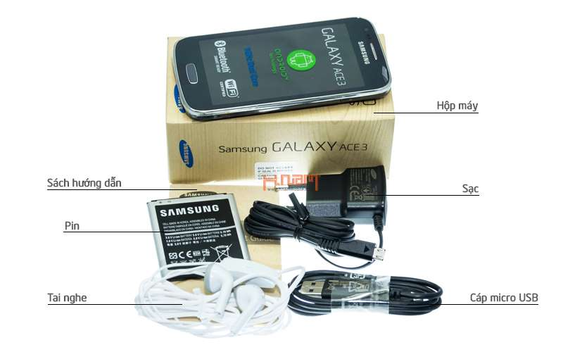 Samsung Galaxy Ace 3 S7270 (cty) hình sản phẩm 0