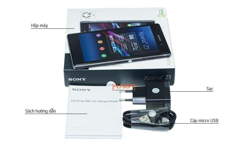 Sony Xperia Z1 16Gb hình sản phẩm 0