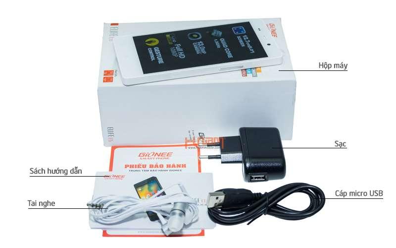 GIONEE Elife E6 32Gb hình sản phẩm 0