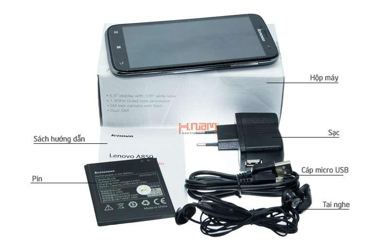 LENOVO A850 hình sản phẩm 0