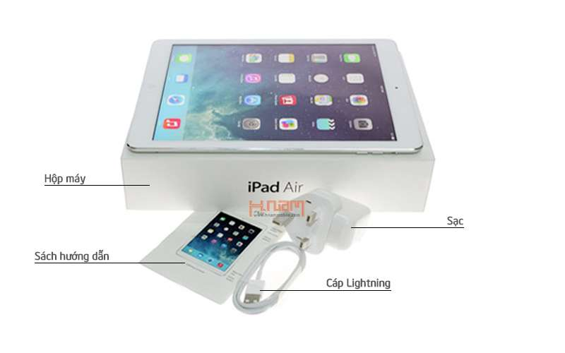 APPLE iPad Air Cellular Silver 16Gb (Certified Pre-Owned) hình sản phẩm 0