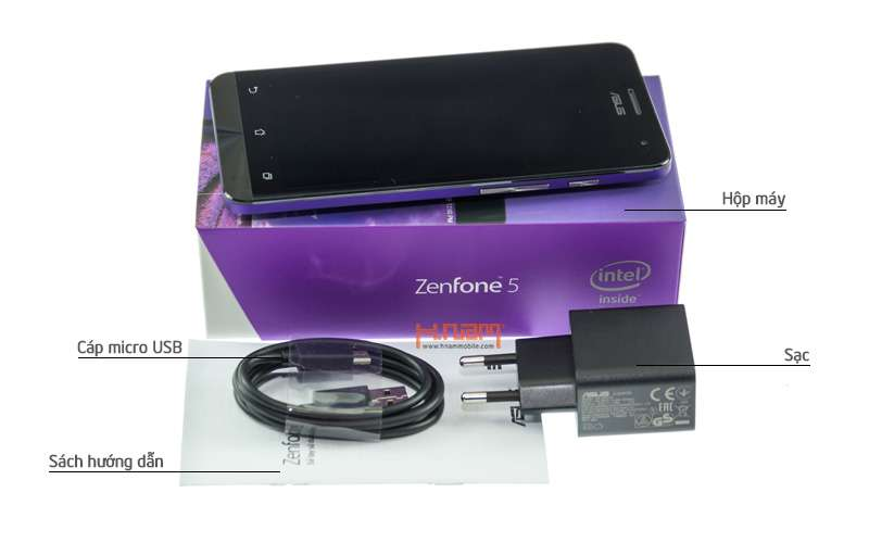 ASUS Zenfone 5 A501CG 16Gb chip 1.6Ghz hình sản phẩm 0