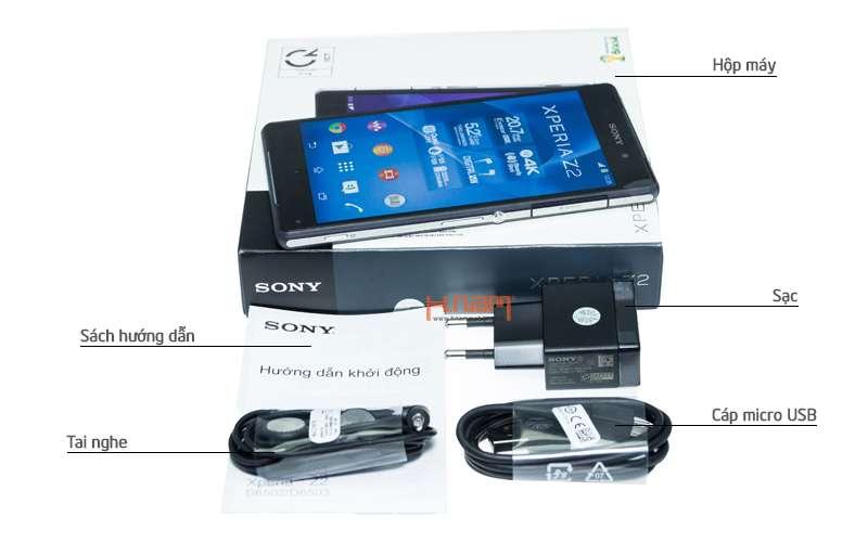 Sony Xperia Z2 16Gb D6502 hình sản phẩm 0