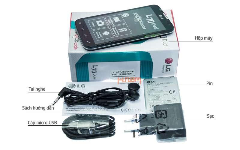 LG L70 Dual D325 hình sản phẩm 0