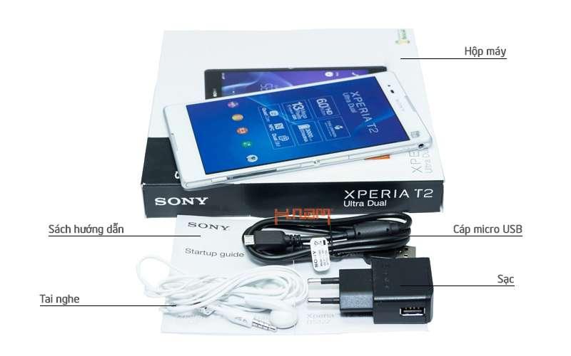 Sony Xperia T2 Ultra Dual 8Gb D5322 hình sản phẩm 0