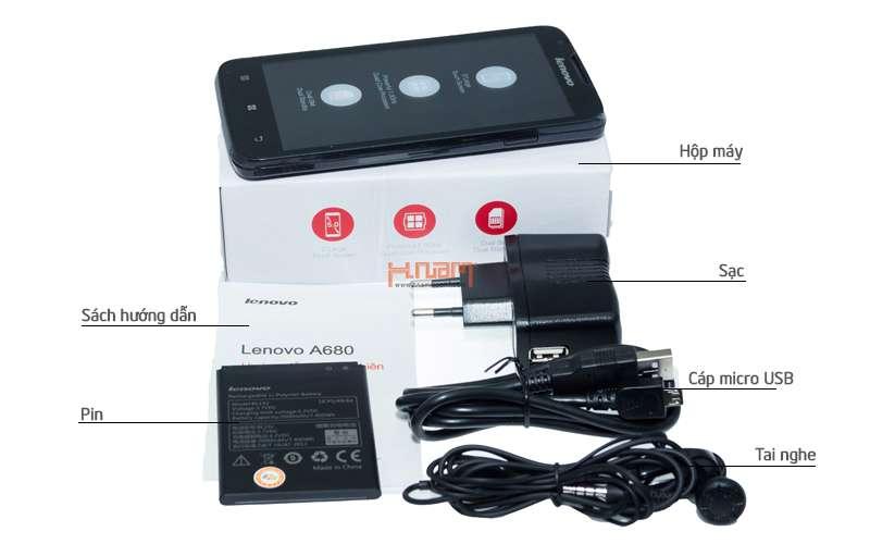 Lenovo A680 hình sản phẩm 0