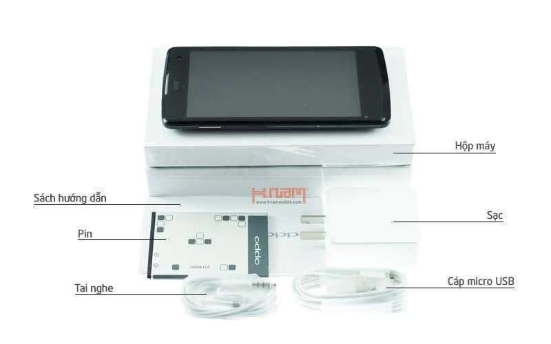 Oppo Joy (R1001) Black hình sản phẩm 0