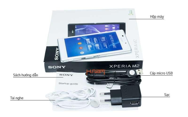 Sony Xperia M2 8Gb D2305 hình sản phẩm 0