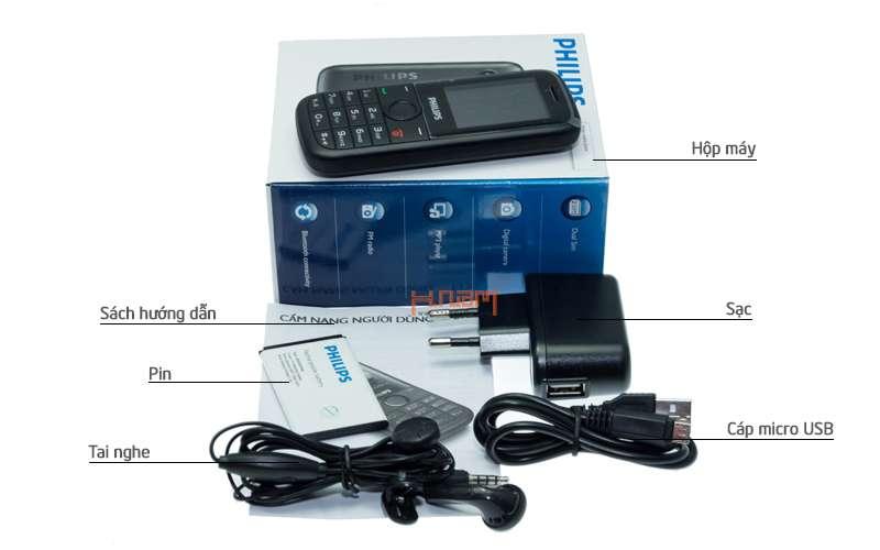 Philips E130 hình sản phẩm 0