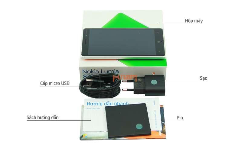 Nokia Lumia 830 16Gb hình sản phẩm 0