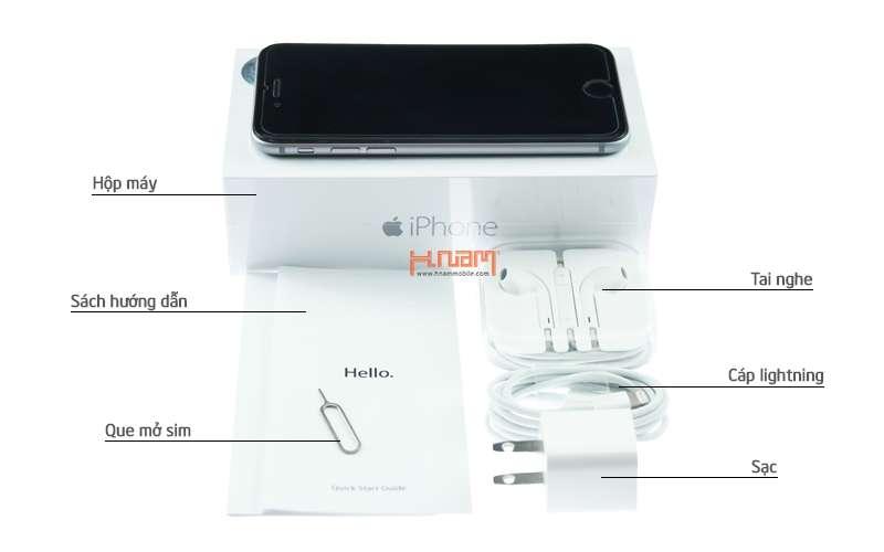 Apple iPhone 6 16Gb Gold hình sản phẩm 0