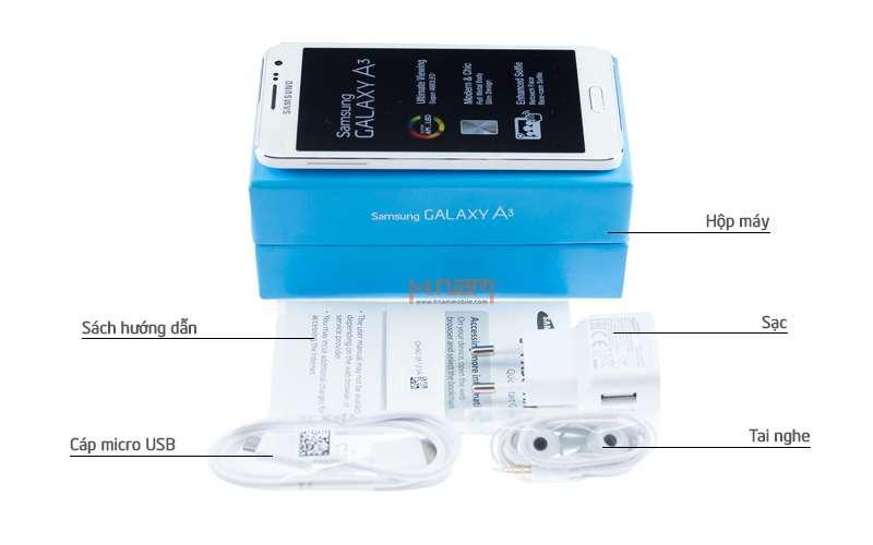 Samsung Galaxy A3 A300H hình sản phẩm 0