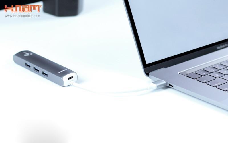 bộ chia cổng Charjenpro USB-C 6in1 Prime