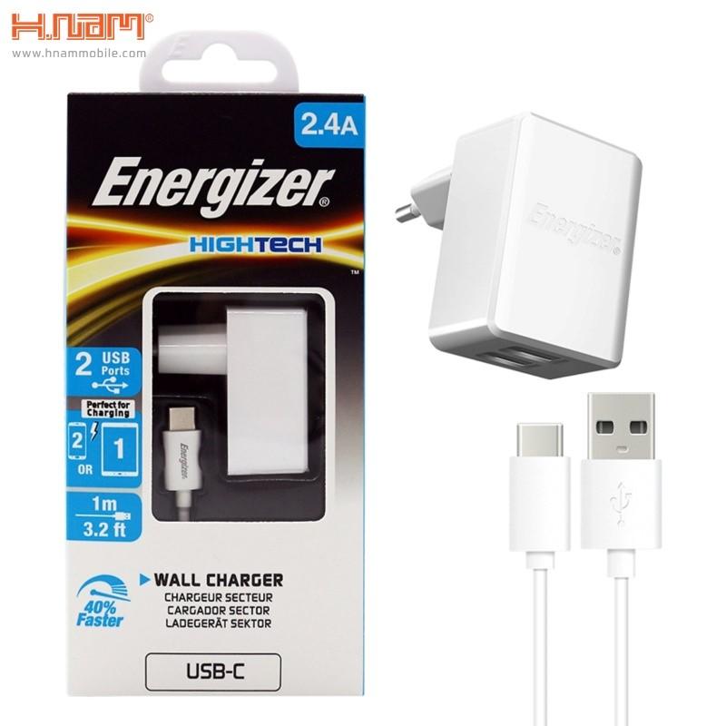 Sạc Energizer 2 cổng HT2.4A