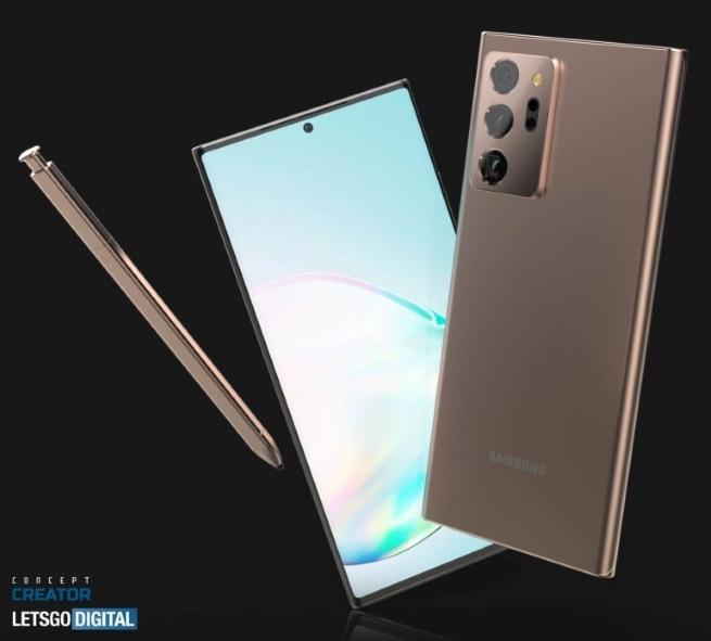 Najnoviji Galaxy Note20 Ultra/Plus renderi i video