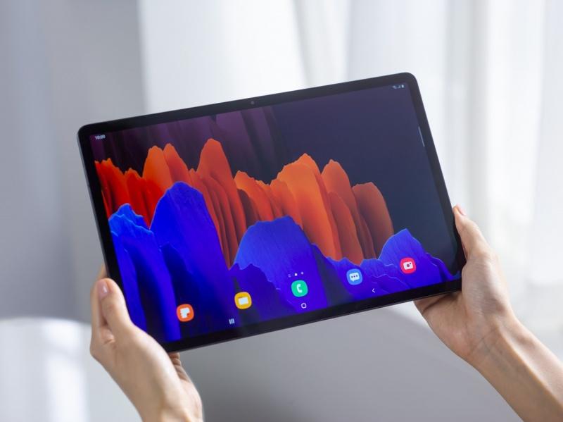 thiết kế Galaxy Tab S7
