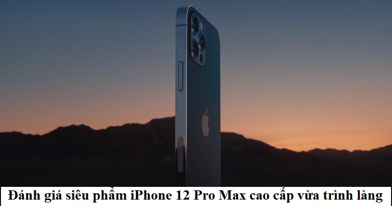 Hnam Mobile - Apple iPhone 12 Pro Max 1 sim 256GB - 1