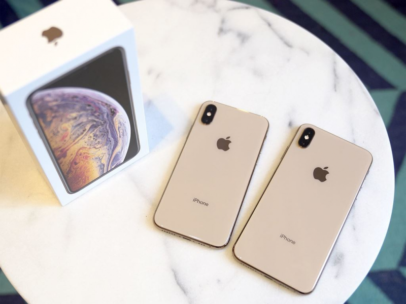 iPhone Xs và iPhone Xs Max