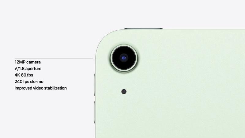 Camera iPad Air 2020