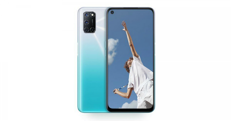 thiết kế oppo a53