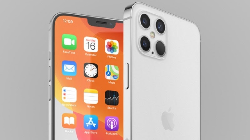 Thiết kế mới của điện thoạiiPhone 12