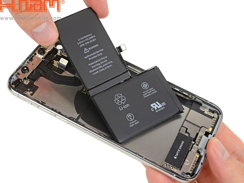 Pin iPhone XS
