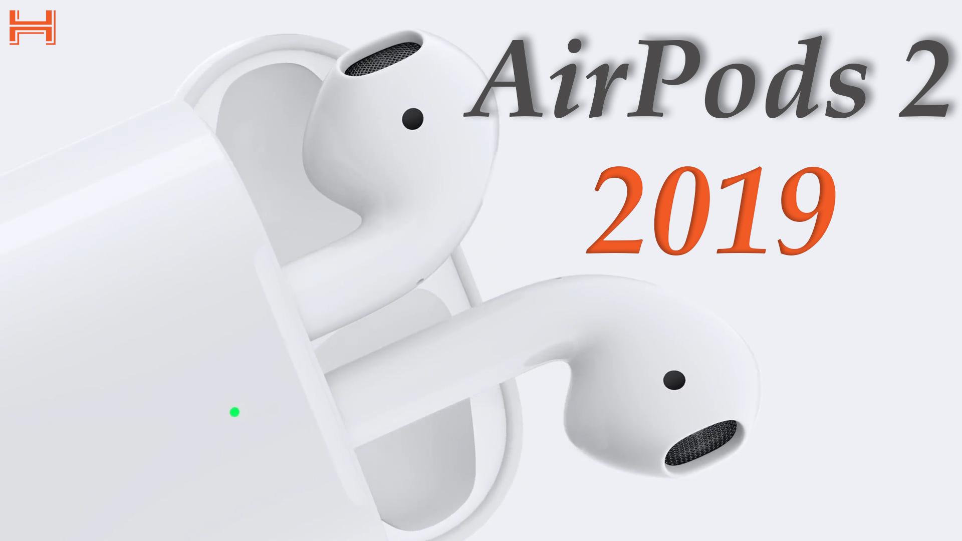 AirPods 2 2019: Chip H1 mới, sạc không dây, pin 24 giờ, giá từ 159 USD hình 1