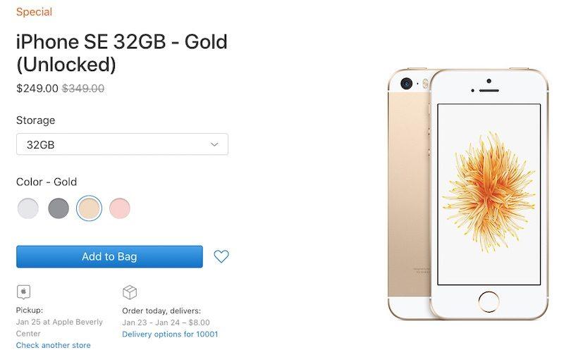 Apple bất ngờ bán lại iPhone SE với giá chỉ 250 USD hình 1