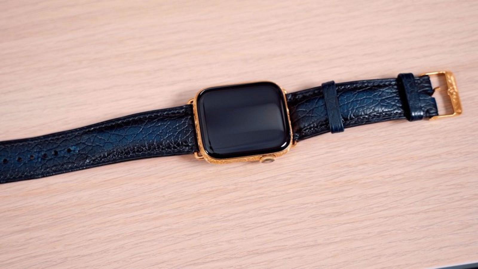 Chiêm ngưỡng Apple Watch Series 4 phiên bản mạ vàng có giá 2.200 USD hình 6