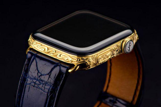 Chiêm ngưỡng Apple Watch Series 4 phiên bản mạ vàng có giá 2.200 USD hình 4