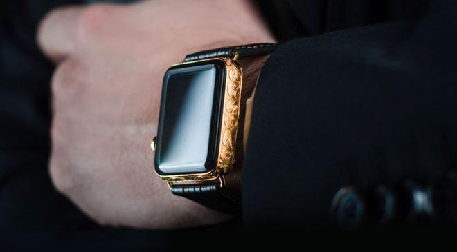 Chiêm ngưỡng Apple Watch Series 4 phiên bản mạ vàng có giá 2.200 USD hình 1