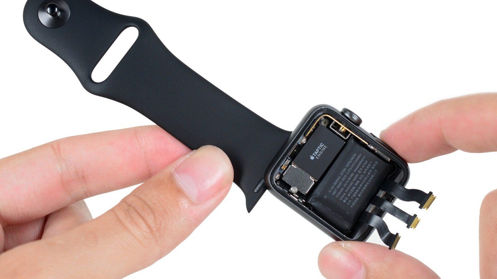 Apple bắt đầu chương trính thay pin miễn phí cho Apple Watch Series 2 hình 1
