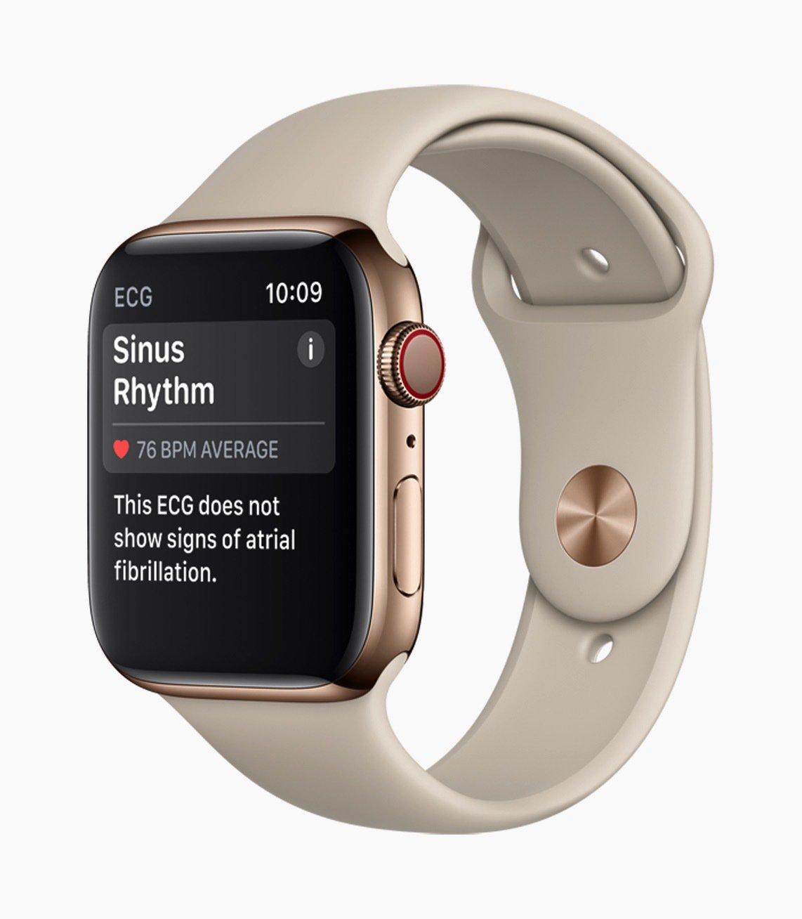Apple chính thức ra mắt Apple Watch Series 4: Màn hình lớn hơn,viền mỏng, nhiều tính năng hình 3