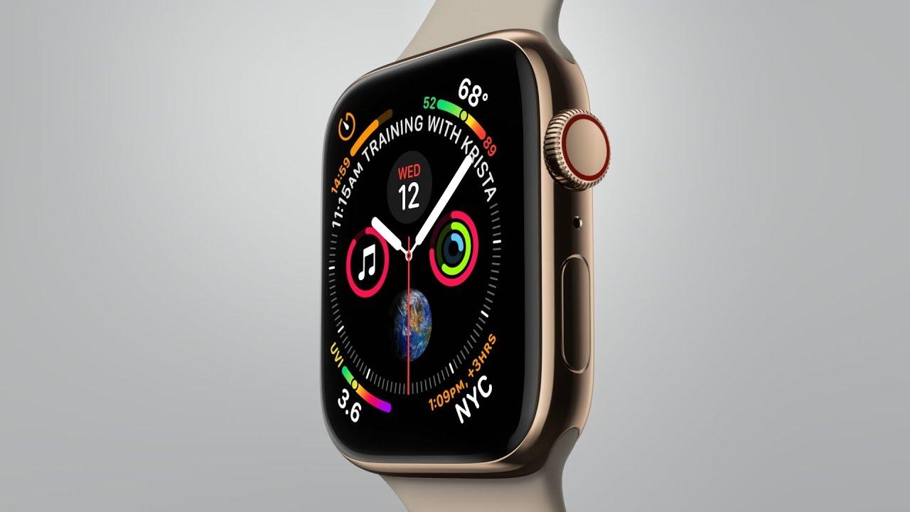 Apple chính thức ra mắt Apple Watch Series 4: Màn hình lớn hơn,viền mỏng, nhiều tính năng hình 1