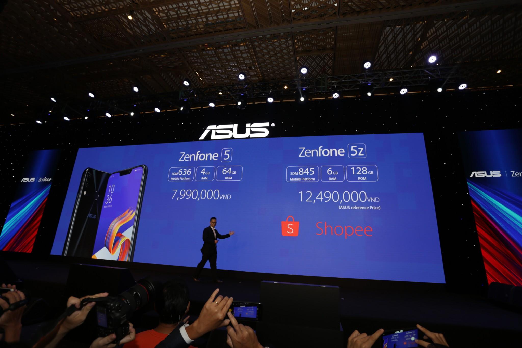 Asus ra mắt Zenfone 5Z và Zenfone Max Pro M1 tại Việt Nam hình 12