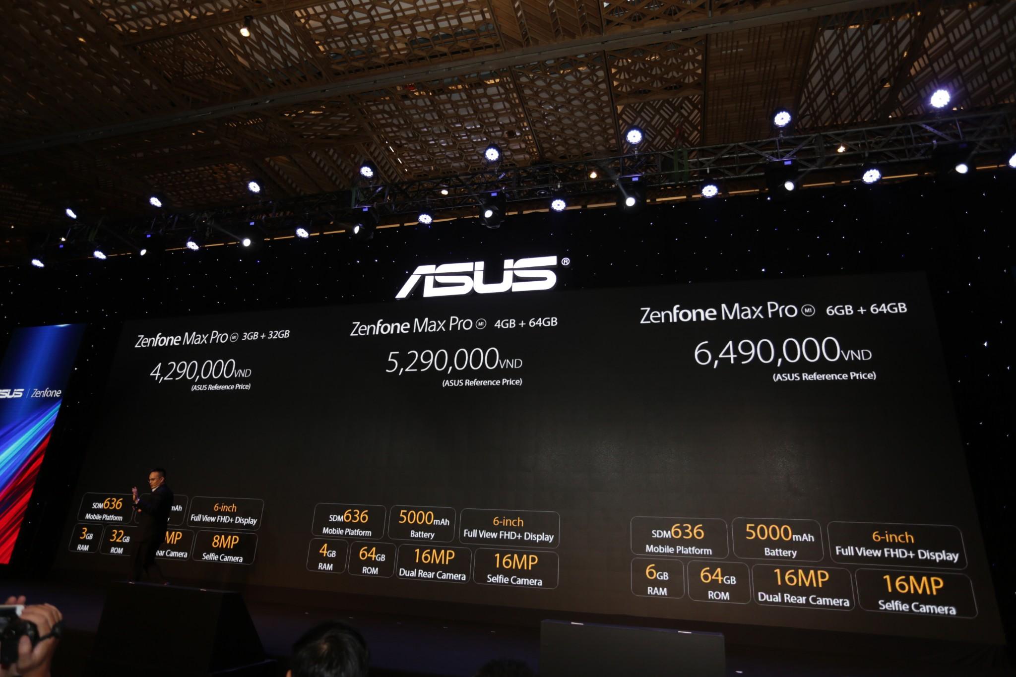 Asus ra mắt Zenfone 5Z và Zenfone Max Pro M1 tại Việt Nam hình 13