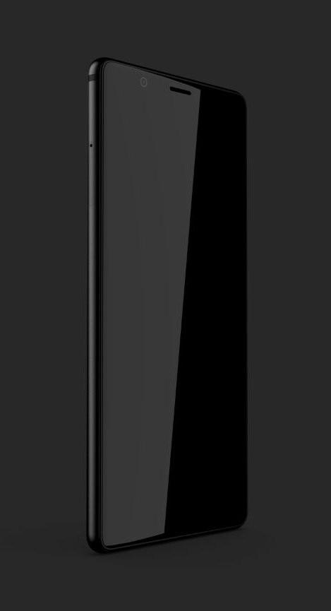 Lộ diện hình ảnh BlackBerry Ghost Pro với thiết kế không viền ấn tượng hình 2