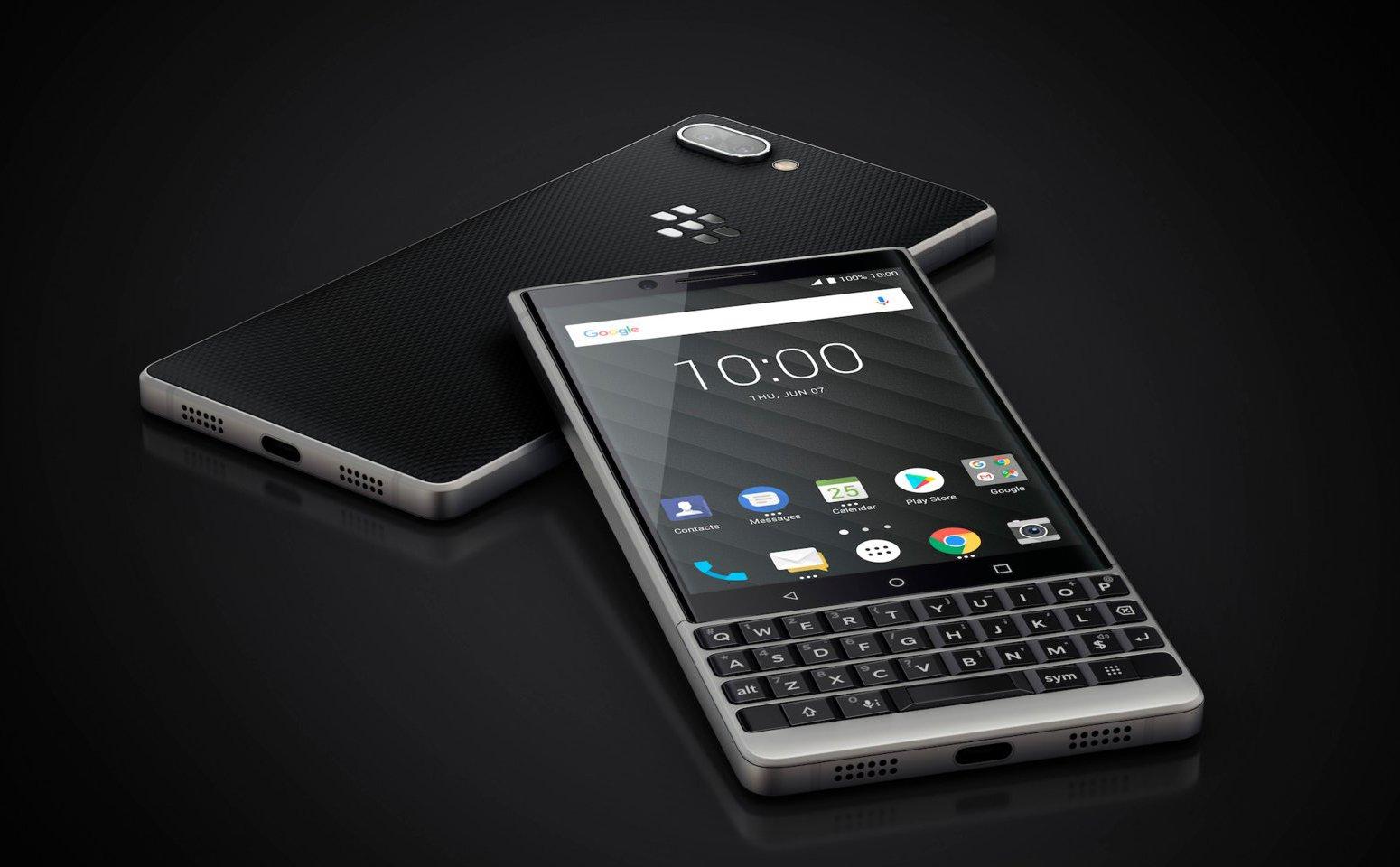 BlackBerry Key2 chính thức ra mắt với thiết kế nam tính hơn, camera kép hình 1