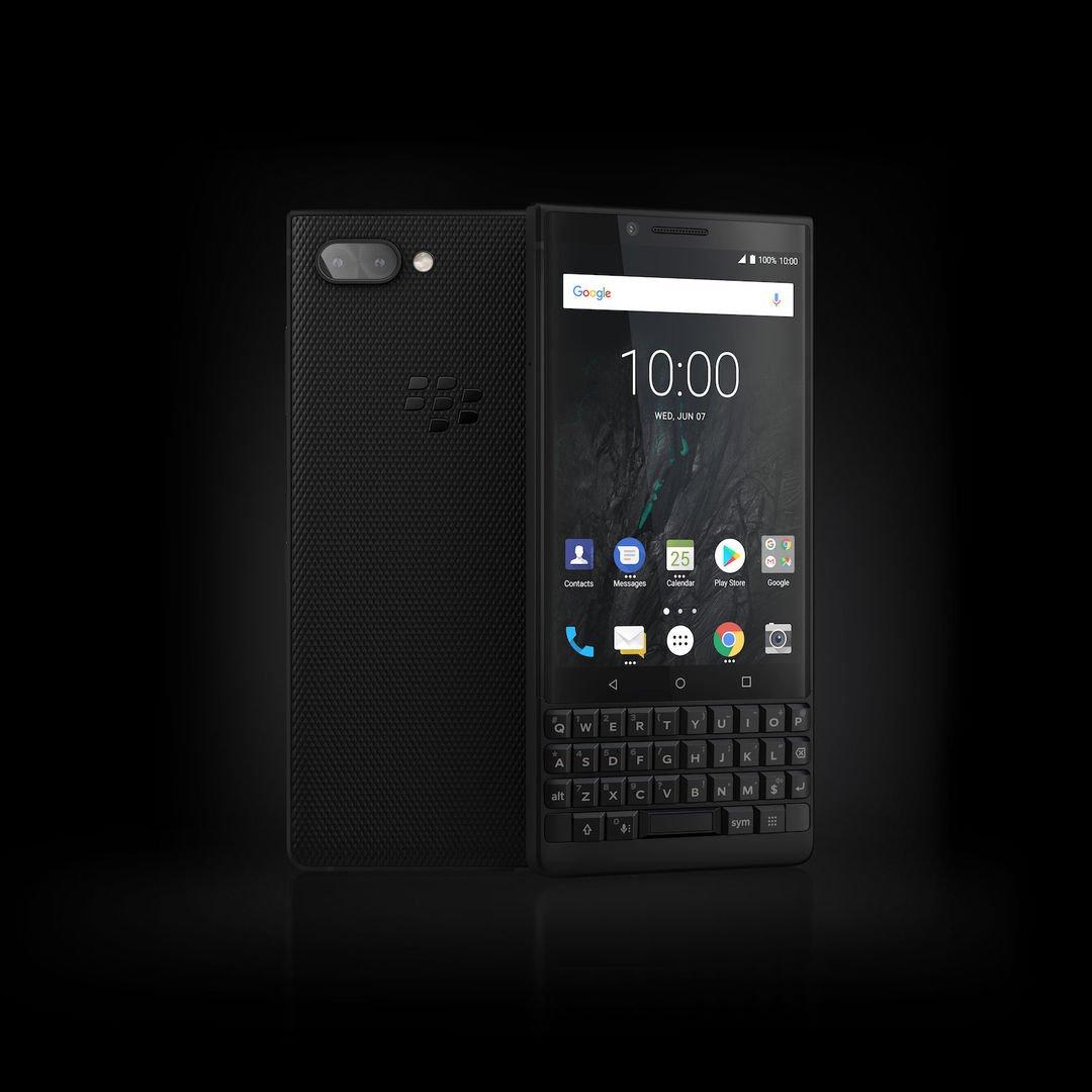 BlackBerry Key2 chính thức ra mắt với thiết kế nam tính hơn, camera kép hình 2