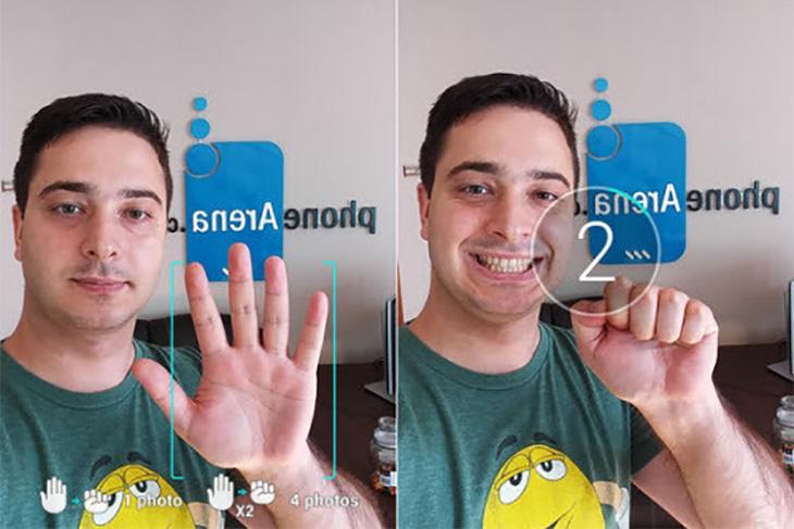 Các tính năng chụp ảnh thường có trên camera trước của smartphone hình 3