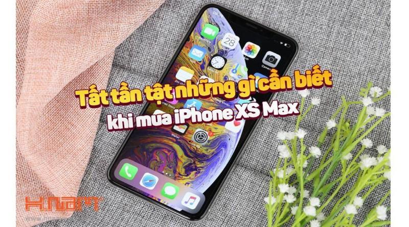 Cẩm nang từ A - Z những điều cần biết khi mua iPhone XS Max hình 1