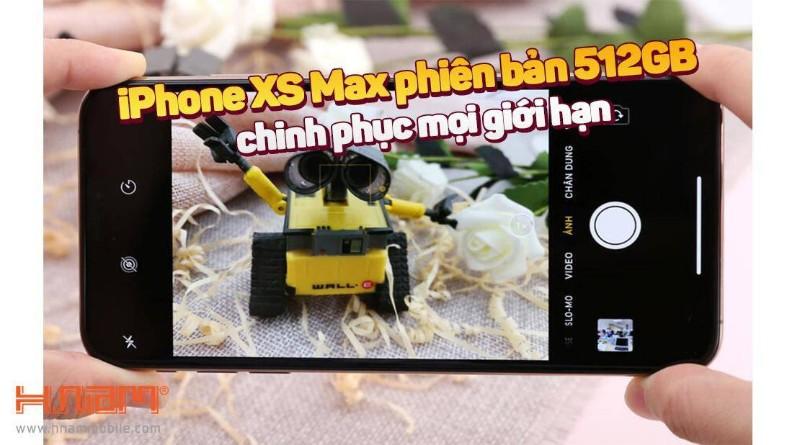 Khám phá 5 tính năng tuyệt vời của iPhone XS Max 512GB hình 1