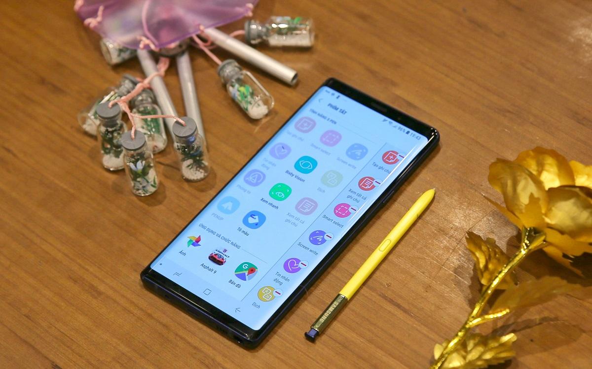 Cách phát huy tối đa sức mạnh và công dụng của chiếc Galaxy Note9 hình 1